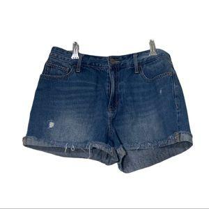 Old Navy Regular cut off frayed shorts